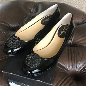 😎COLE HAAN PATENT LEATHER BALLET FLATS